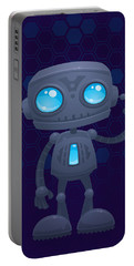 Waving Robot Portable Battery Charger