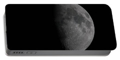 Waxing Gibbous Moon Portable Battery Charger by Ernie Echols