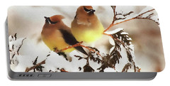 Waxwing Refuge  Portable Battery Charger
