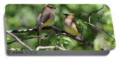 Waxwing Socialism Portable Battery Charger