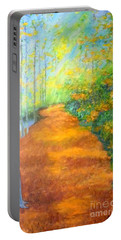 Way In The Forest Portable Battery Charger