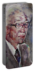 Wc Portrait 1624 My Papa Portable Battery Charger