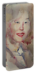 Wc Portrait 1628 My Sister Hyunsook Portable Battery Charger