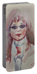 Wc Portrait 1629 My Sister Younhee Portable Battery Charger