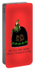 We All Irish This Beautiful Day Portable Battery Charger
