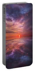 We Are The Dreamers Of Dreams Portable Battery Charger by Phil Koch