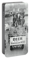 We Have Beer - Prohibition Ends - Cleveland 1933 Portable Battery Charger
