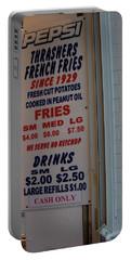 We Serve No Ketchup Portable Battery Charger