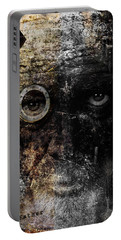 Portable Battery Charger featuring the digital art Weary by Nola Lee Kelsey