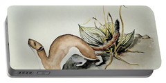 Weasel And Snake Berry Portable Battery Charger