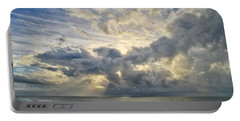 Weather Over Topsail Beach 2977 Portable Battery Charger