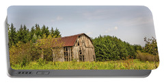 Weathered Barn Basking In The Summer Sun Portable Battery Charger