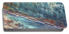 Weathered Portable Battery Charger by Kathy Bassett