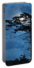 Weathered Moon Tree Portable Battery Charger