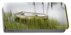 Weathered Old Skiff - The Outer Banks Of North Carolina Portable Battery Charger