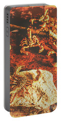 Weathered Scorpion Art Portable Battery Charger