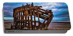 Weathered Shipwreck Portable Battery Charger