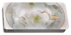 Wedding Bouquet Portable Battery Charger by Victoria Harrington