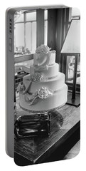 Wedding Cake Bw Series 0956 Portable Battery Charger