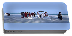 Wedding Complete Panoramic Kenya Beach Portable Battery Charger