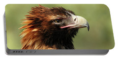 Wedge-tailed Eagle Portable Battery Charger by Marion Cullen
