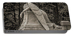 Weeping Angel - Sepia Portable Battery Charger