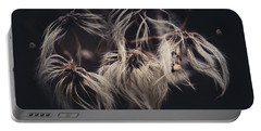 Portable Battery Charger featuring the photograph Weeping Dandelions by Shane Holsclaw
