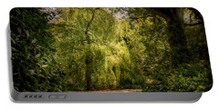 Portable Battery Charger featuring the photograph Weeping Willow by Ryan Photography