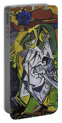 Picasso's Weeping Woman Portable Battery Charger