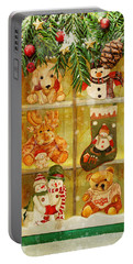 Welcome Christmas Portable Battery Charger
