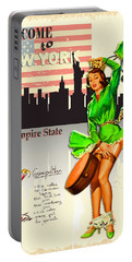 Welcome To New York Portable Battery Charger