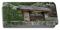 Welcome To Signal Mountain Spring Portable Battery Charger