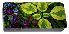 Portable Battery Charger featuring the photograph Welcome To The Jungle by Jessica Manelis