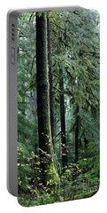 Welcome To The Woods Portable Battery Charger by Jane Eleanor Nicholas