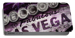 Vegas Baby Portable Battery Charger by Dani Abbott