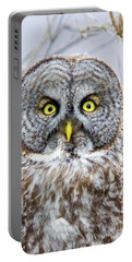 Well Hello - Great Gray Owl Portable Battery Charger