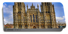 Wells Cathedral, Somerset Uk Portable Battery Charger