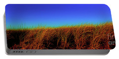 Wells Rachel Carson Wildlife Refuge Grass And Dunes Portable Battery Charger