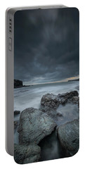 Welsh Seascape At Dusk. Portable Battery Charger