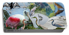 Welter Of Waterbirds Portable Battery Charger