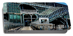 Portable Battery Charger featuring the photograph West 8th Street New York Aquarium Subway Station by Chris Lord