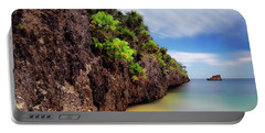 Portable Battery Charger featuring the photograph West Bay Beach At Isla Roatan - Caribbean - Honduras - Seascape by Jason Politte