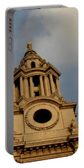 West Front Of St. Paul's Cathedral, London Portable Battery Charger