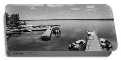 Portable Battery Charger featuring the photograph West Hawk Lake by Cendrine Marrouat