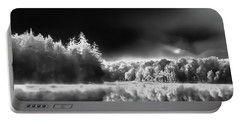 Portable Battery Charger featuring the photograph West Lake Backlit by David Patterson