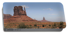West Mitten Butte Monument Valley Portable Battery Charger