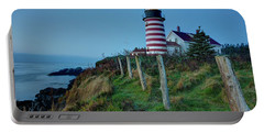West Quoddy Head Light Portable Battery Charger