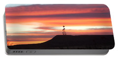 Mile Marker 122 West Texas Sunrise Portable Battery Charger