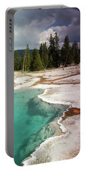 West Thumb Geyser Pool Portable Battery Charger