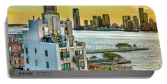 Portable Battery Charger featuring the photograph West Village To Jersey City Sunset by Chris Lord